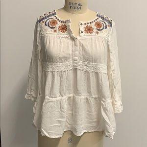 Pheasant blouse